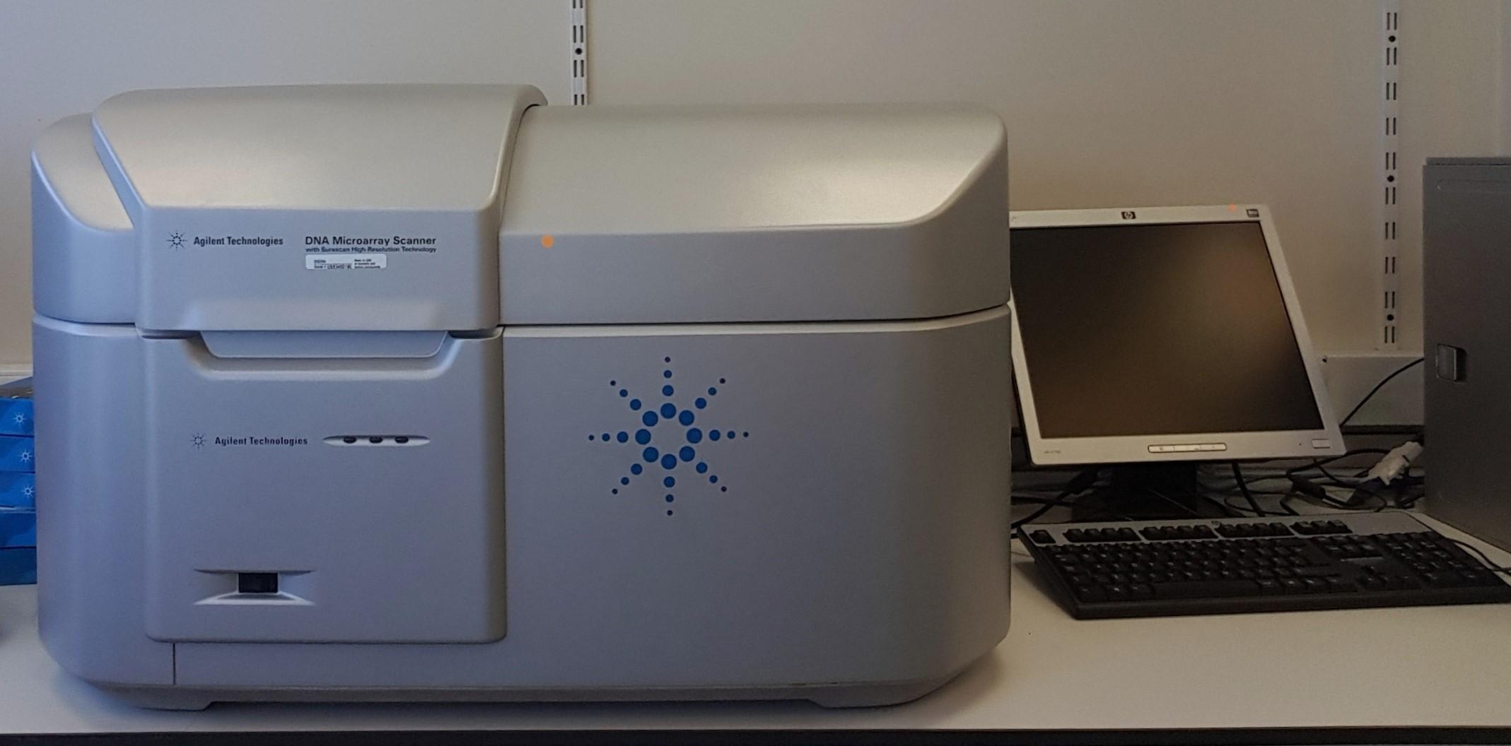 Agilent SureScan Microarray System