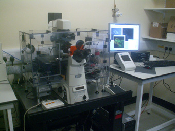 TI-E Inverted Microscope wiht LED and Screening