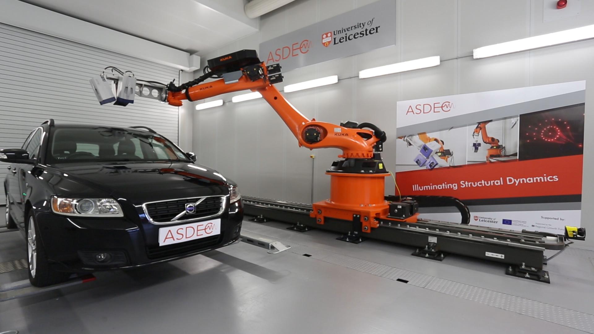 Robotised 3D Laser Scanning Vibrometer