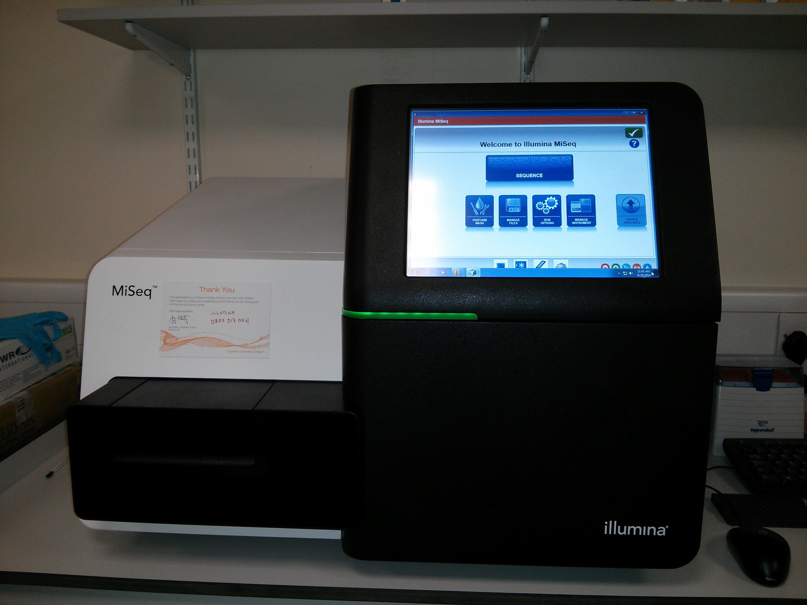 Miseq Desktop Sequencer